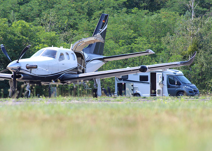 Welzow Airport Camping